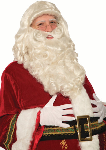 PREMIUM SANTA BEARD AND WIG SET