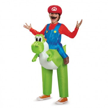 MARIO RIDING YOSHI COSTUME CHILD