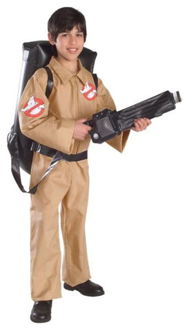 GHOSTBUSTER WITH INFLATABLE BACKPACK COSTUME - KIDS