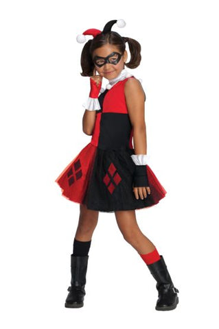 HARLEY QUINN TUTU DRESS COSTUME - KIDS