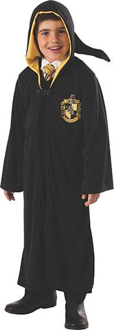 HARRY POTTER HUFFLEPUFF ROBE COSTUME - KIDS