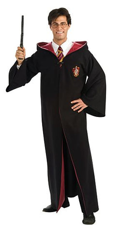 DELUXE HARRY POTTER ROBE COSTUME - ADULT STANDARD