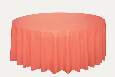 CORAL ROUND TABLE COVER
