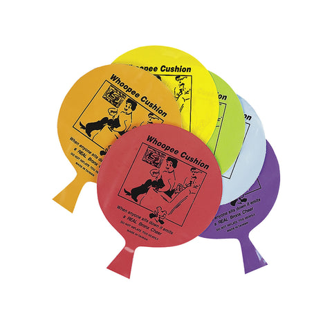 WHOOPEE CUSHION - ASST. COLORS  4 DZ/UNIT