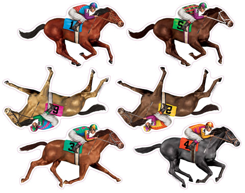 RACE HORSE CUTOUTS