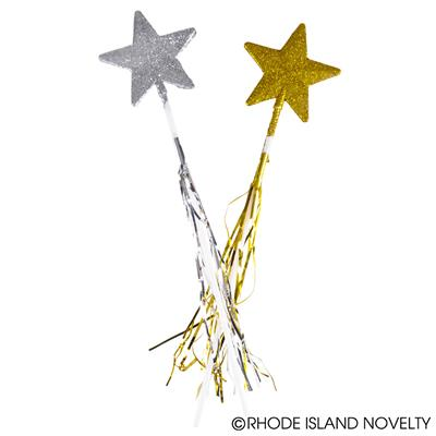 Glitter Wand, Silver or Gold