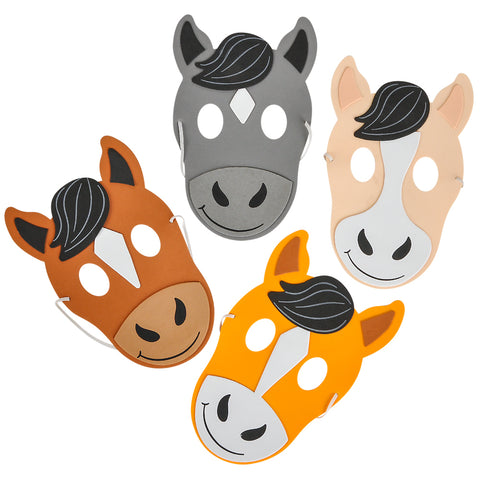 Foam Horse Masks