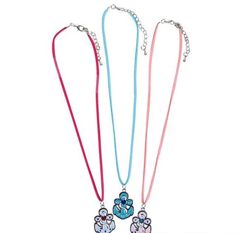 Colorful Anchor Necklaces