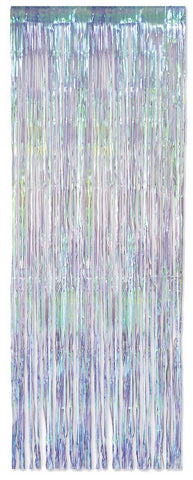 IRIDESCENT METALLIC DOOR CURTAIN