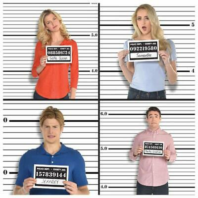 JAIL PHOTO BOOTH BACKDROP
