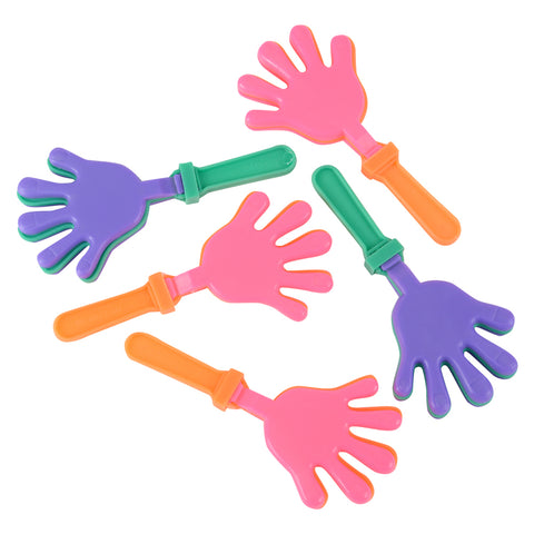 PLASTIC HAND CLAPPERS 12CT