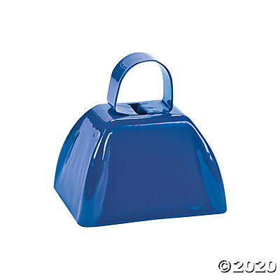 Blue School Cowbell