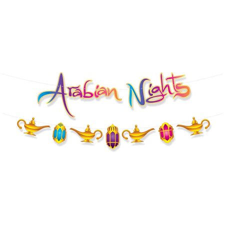 ARABIAN NIGHTS STREAMER SET 9FT