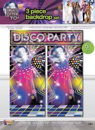 Disco Fever Backdrop Set