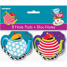 Tea Party Notepads