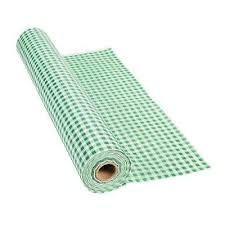 Green Gingham Tableroll