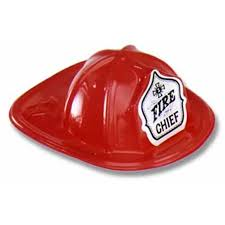 Mini Fire Chief Hat