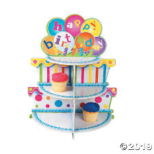 Birthday Cupcake Holder