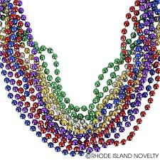 Assorted Color Beaded Necklaces