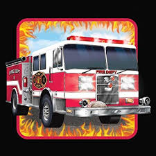 Fire Watch Luncheon Napkins