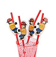 Firehouse Paper Straws