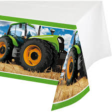 Tractor Time Tablecover