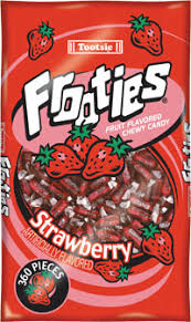 Tootsie Roll Frooties - Strawberry