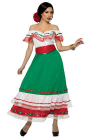 Fiesta Dress - Adult Plus Costume