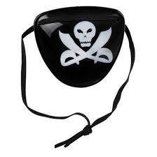 Kids Plastic Pirate Eyepatch