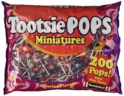 Miniature Tootsie Roll Pops