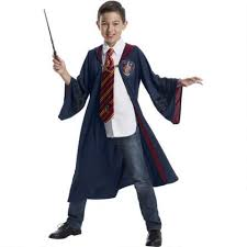 FANTASTIC BEASTS GRYFFINDOR ROBE COSTUME - KIDS