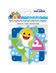Baby Shark Jointed Banner