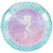MERMAID SHINE MYLAR BALLOON 18""