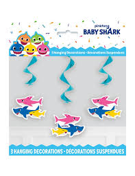 Baby Shark Hanging Decorations