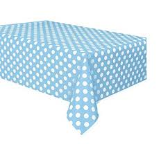 Baby Blue Polka Dot Tablecover