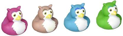 Owl Rubber Ducks