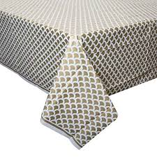 Gold Scallop Plastic Tablecover