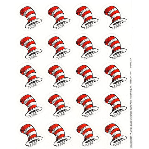 DR SEUSS HAT STICKERS