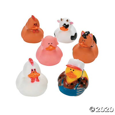 Farm Rubber Ducks