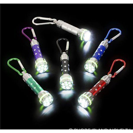 "2"" FLASHLIGHTS WITH CLIPS"