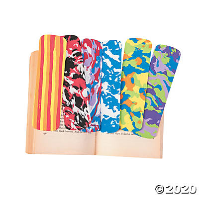 Foam Assorted Bookmarks