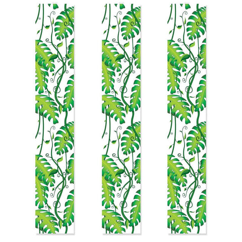 "JUNGLE PARTY PANEL VINES  6CT  12""X6'"
