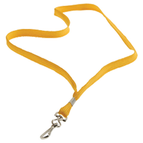 LANYARDS - YELLOW
