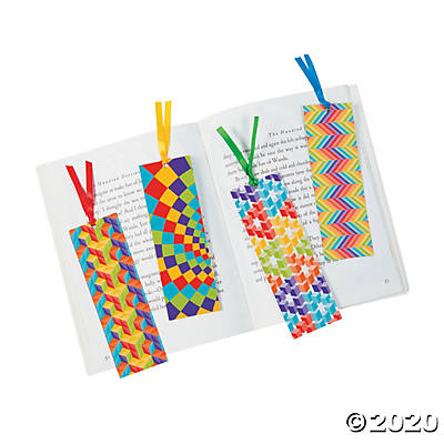 Optical Illusion Bookmarks