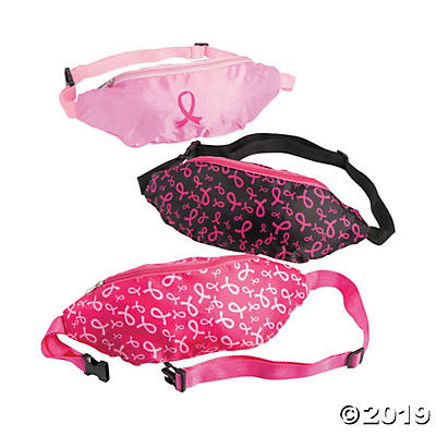 PINK RIBBON FANNY PACK 1PC