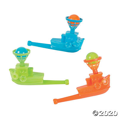 Tugboat Float-A-Ball Games