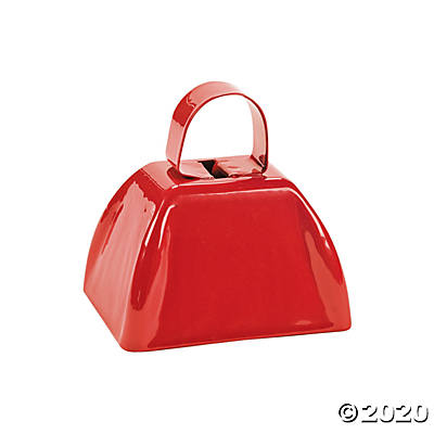 Red School Cowbell