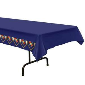 MEDIEVAL PLASTIC TABLE COVER
