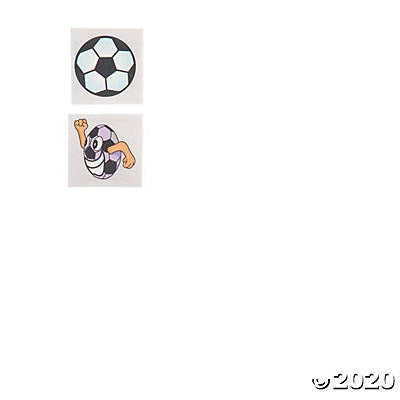Soccer Temporary Tattoos