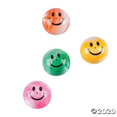 SMILE FACE POPPERS, 144 PIECES
